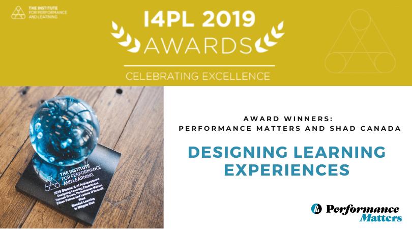 Award-Winning Training Design
