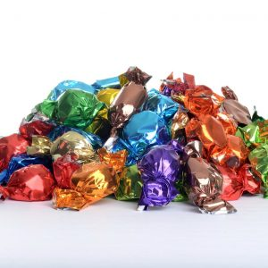 pile-of-hard-candies-in-wrappers