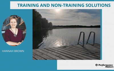 Training and  non-training solutions