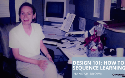 Design 101: Sequencing learning
