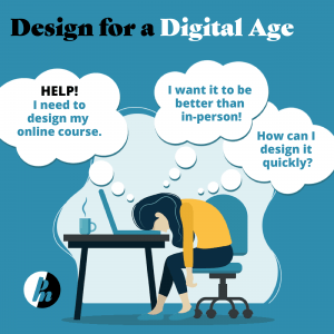 illustration-of-frustrated-woman-with-head-on-desk-thinking-about-how-to-design-an-online-training-course